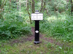 New Uttoxeter Canal Milepost